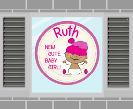 Raamsticker Ruth