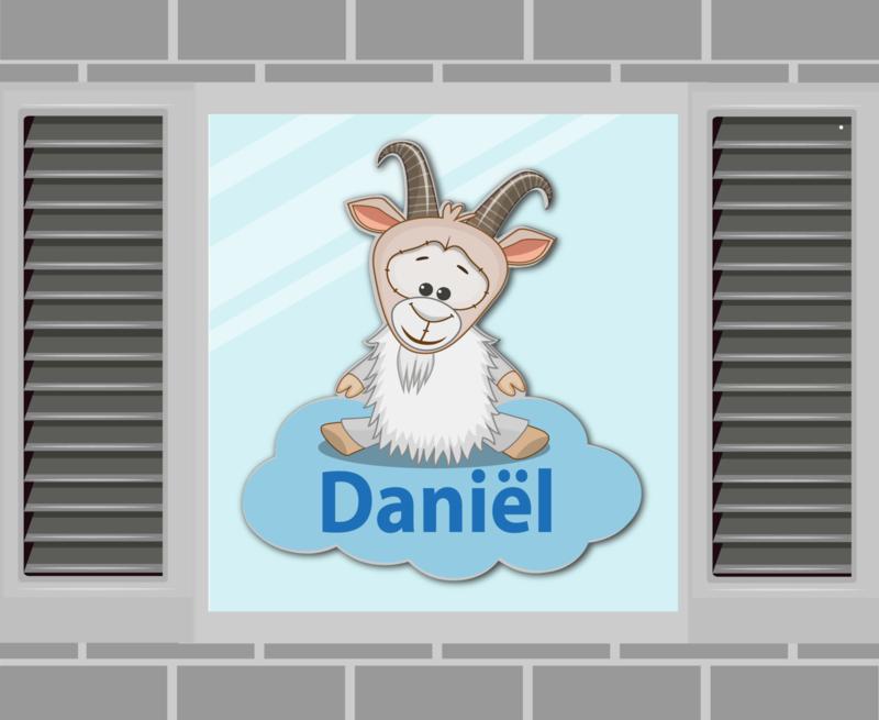 Raamsticker Daniël