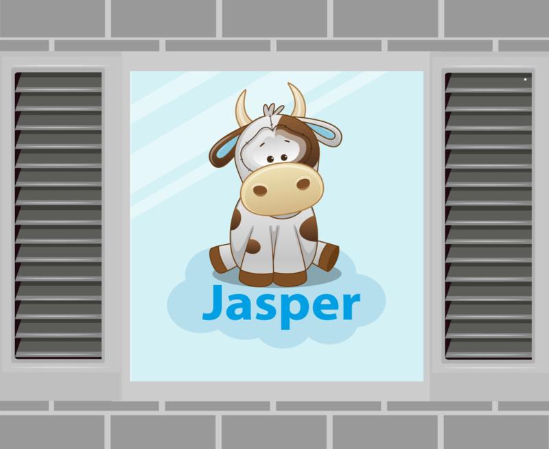 Raamsticker Jasper