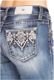 Miss Me mid-rise straight jeans M3656T