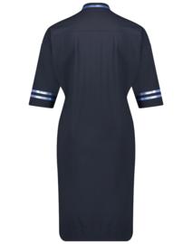 Jane Lushka 2021 Arianna blauwe travelstof jurk U92122010RF