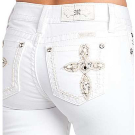 Miss Me witte skinny jeans M3331S