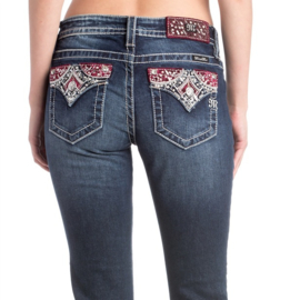 Miss Me mid-rise ankle skinny jeans M3278AK