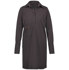 Jane Lushka 2020-2021 bruine travelstof jurk Ema U920AW80EC