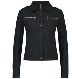 Jane Lushka zwarte travelstof jacket Riva U120AW950Z