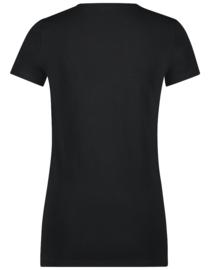 Jane Lushka 2021 Frankie zwart T-Shirt JL Mask On P6212005