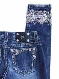 Miss Me cuffed skinny jeans JP8734CK