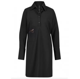 Jane Lushka 2020-2021 zwarte travelstof jurk Ema U920AW80EC