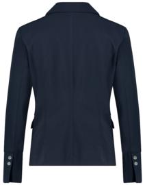 Jane Lushka 2021 Amsterdam blauwe travelstof blazer BU12123050