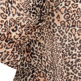 Jane Lushka viscose top CL620HS006 Leopard beige