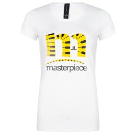 Jane Lushka wit T-Shirt P620SS700 Frankie Masterpiece