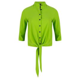 Jane Lushka 2020 lime groene travelstof blouse U720SS55K Chloe