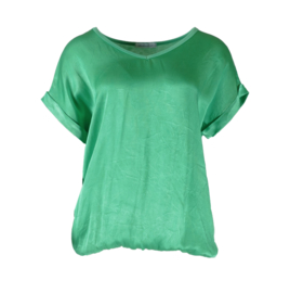 Azzurro 2021 easy to wear blouson top groen