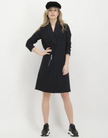 Jane Lushka 2020-2021 zwarte travelstof jurk Desire U920AW190