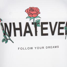 Jane Lushka wit T-Shirt P620SS800 Frankie Whatever
