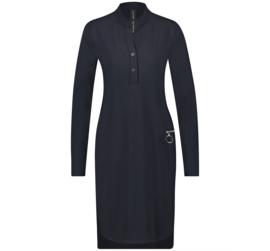 *AKTIE* Jane Lushka blauwe jurk Eva BB9200Z
