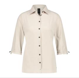 Jane Lushka 2021 Flora sand travelstof blouse U72126080
