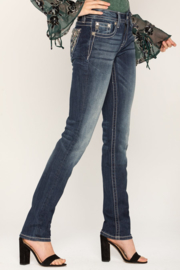 Miss Me mid-rise straight jeans M3481T