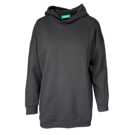 Turquoise by Daan 2021 Sweater Hoody zwart E10471/81