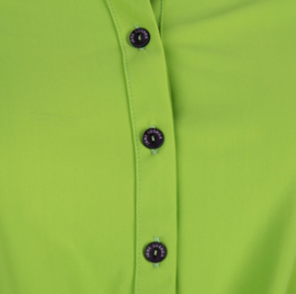 Jane Lushka groene travelstof blouse U720SS55K Chloe