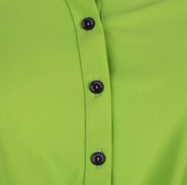 Jane Lushka 2020 travelstof blouse U720SS55K Chloe lime groen