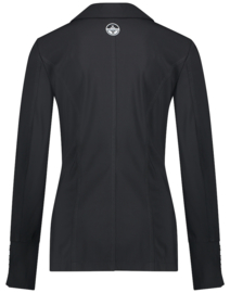 Jane Lushka 2021 Brigitte long zwarte blazer U1212002