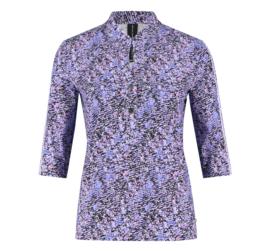 Jane Lushka 2021 Lia paarse travelstof blouse UNY621225B