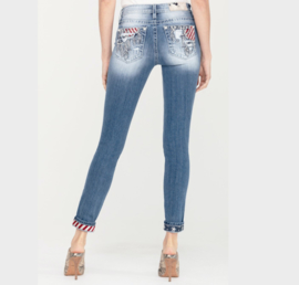 Miss Me mid-rise skinny jeans M3737S