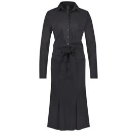 Jane Lushka 2020-2021 zwarte travelstof jurk Rosi U920AW610