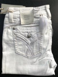 Miss Me mid-rise witte skinny jeans M3444S7