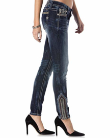 Miss Me mid-rise ankle skinny jeans MP8752AK