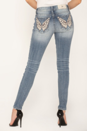Miss Me mid-rise skinny jeans M3505S