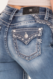 Miss Me mid-rise skinny jeans M3668S