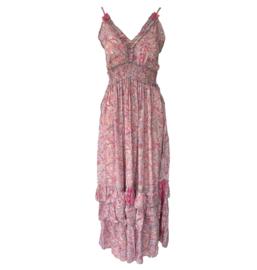 Capucine 2021 Bohemian jurk Marie Raspberry
