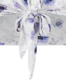 Jane Lushka 2021 Chloe travelstof blouse met bloesemprint UPF721255KK