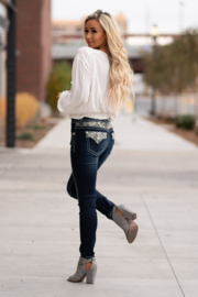 Miss Me mid-rise skinny jeans M3655S