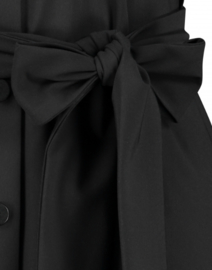 Jane Lushka 2020-2021 zwarte travelstof jurk met riem Nico BB9120
