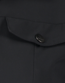 Jane Lushka 2021-2022 Sesil zwarte travelstof blouse U721180