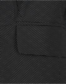 Jane Lushka zwarte travelstof blazer met stip Atina UT120AW790