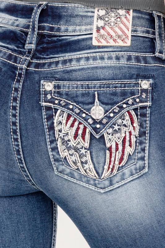 Miss Me bootcut jeans M5082B104