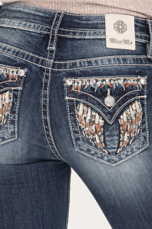 Miss Me mid-rise skinny ankle jeans M5082S100