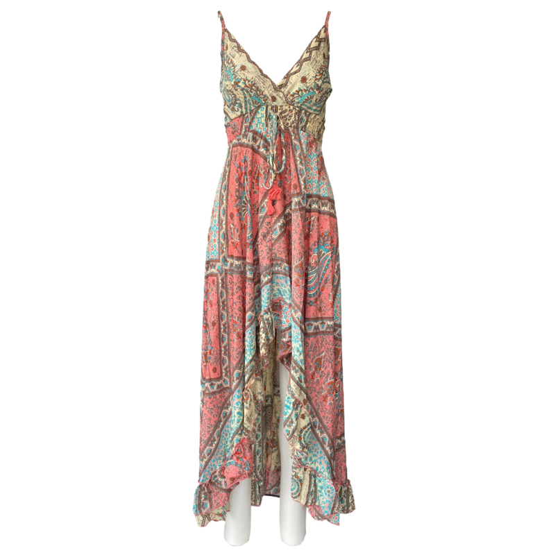 Capucine 2021 Bohemian jurk Cristina Beige