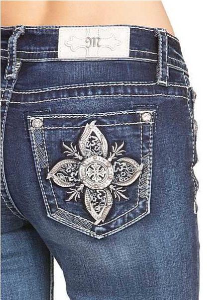 Miss Me bootcut jeans M3613B