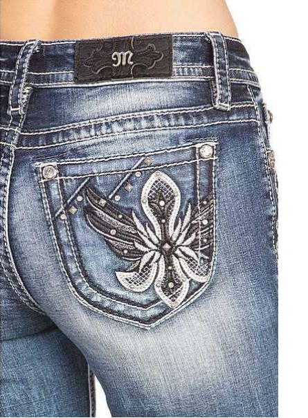 Miss Me bootcut jeans M3652B