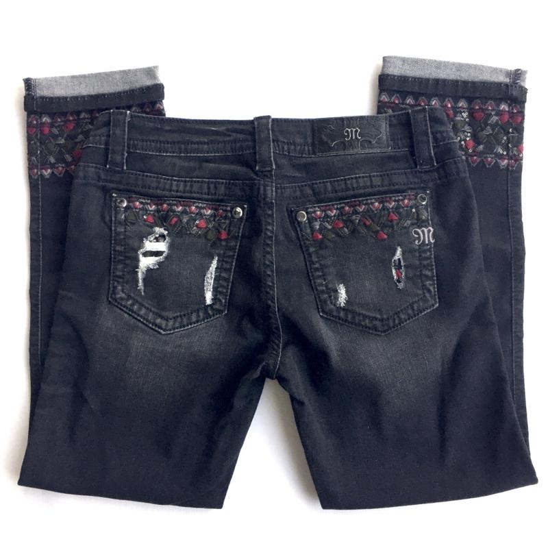 Miss Me ankle skinny jeans JP7713CK