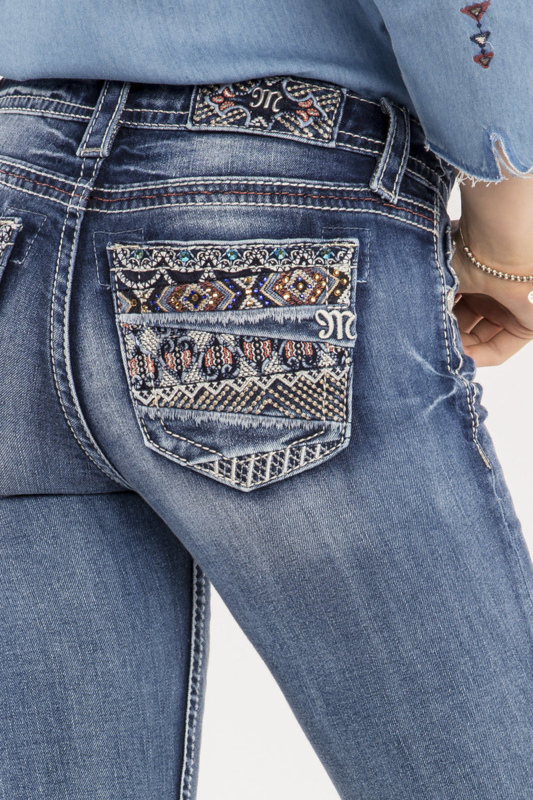 Miss Me mid-rise bootcut jeans M9055B2