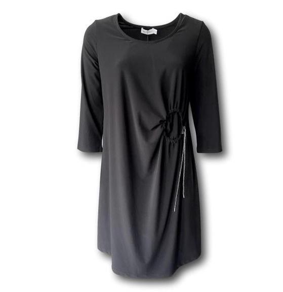 Mc Planet by Innate 2020-2021 travelstof jurk Kena zwart