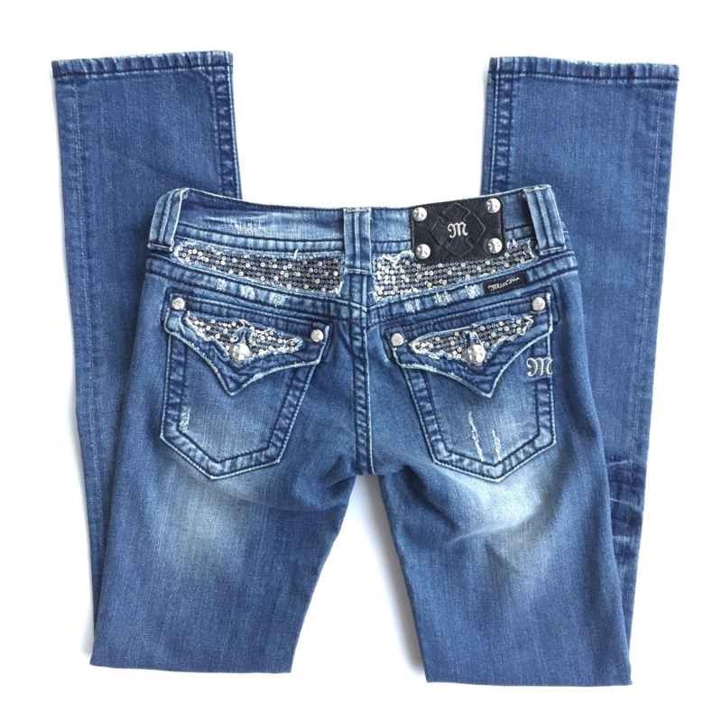 Miss Me straight jeans JP6068T