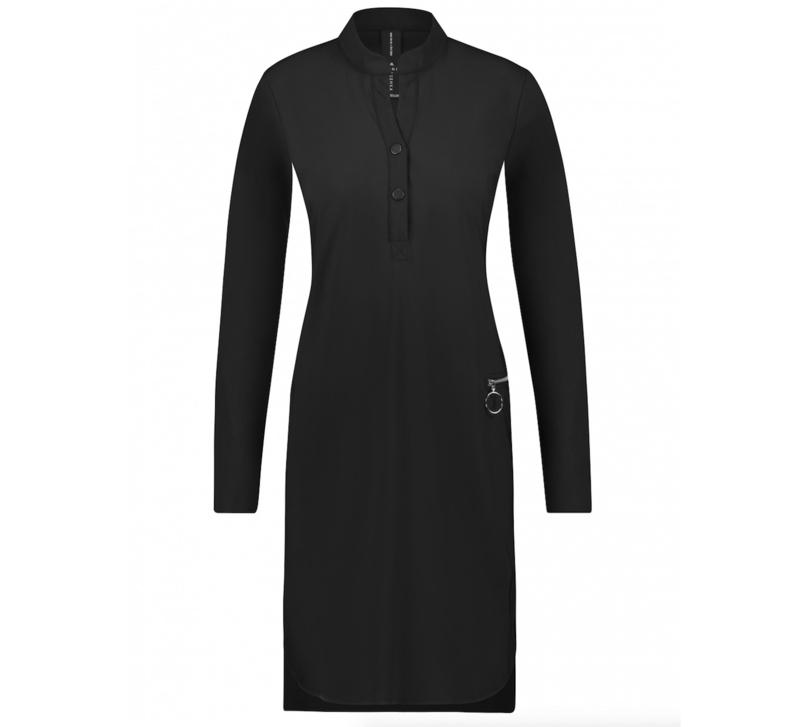 Jane Lushka 2020-2021 zwarte travelstof jurk Eva BB9200Z