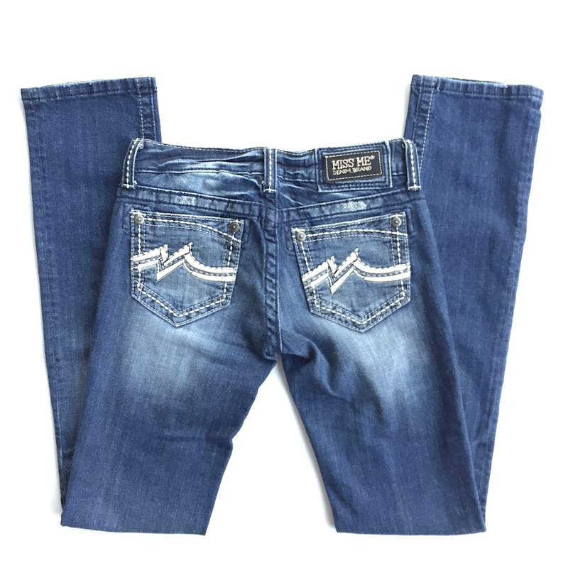 Miss Me straight jeans JD1038T2